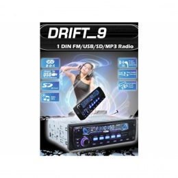 Autoradio, RDS, USB/SD/MP3, Drift_9 DR-7095