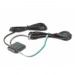 AIV 150567 Universal Glasklebe Antenne mit 250cm Kabel