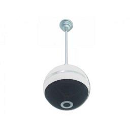 Decken-Lautsprecher in Kugelform, Designerstück, weiss, 10W RMS, 18cm Ø