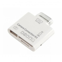 "Kamera Connection-Kit ""5+1-in-1"" für Apple iPad®, mit USB-Anschluss + SD-Karte"