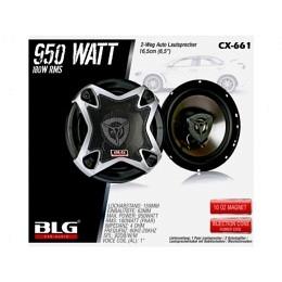 2-Wege Lautsprecher, 16.5cm, 950Watt, BLG CX-661