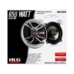 2-Wege Lautsprecher, 13cm, 650Watt, BLG QX-559