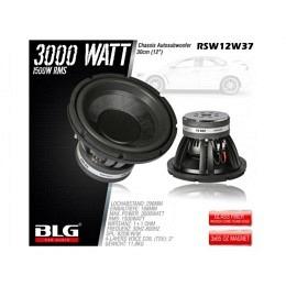 Subwoofer, 3000 Watt, 30cm, BLG RSW12W37