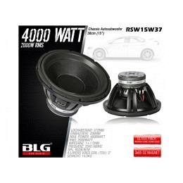 Subwoofer, 4000 Watt, 38cm, BLG RSW15W37