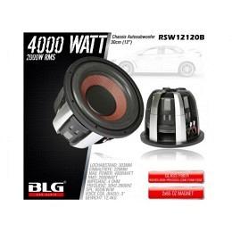 Subwoofer, 4000 Watt, 30cm, BLG RSW12120B