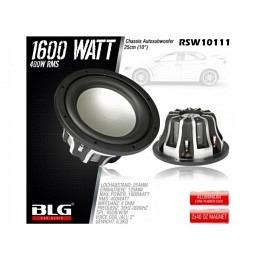 Subwoofer, 1600 Watt, 25cm, BLG RSW10111