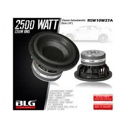 Subwoofer, 2500 Watt, 25cm, BLG RSW10W27A