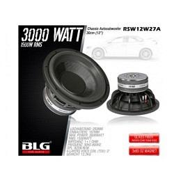 Subwoofer, 3000 Watt, 30cm, BLG RSW12W27A