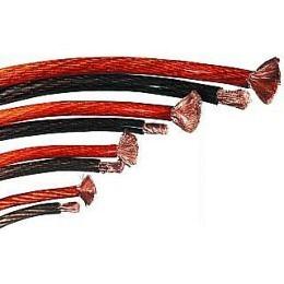 Powerkabel MEGAKICK 6 mm², schwarz Meterware