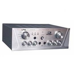 Stereo Verstärker mit KARAOKE & USB-MP3/SD LTC AMP2000USB