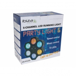 LED Lichtorgel, 6-Kanal, JDL034LED