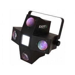 """4-Eyes RGBGW LED Lichteffektgerät mit Stroboskop, Ibiza """"LE4LED-STROBE"""""""