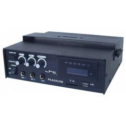 PA-Verstärker, 3-Kanal, 60W MIT USB/SD-MP3, LTC PAA60USB