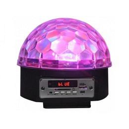 ASTRO 5 RGBWGR LED Lichteffekt mit Lautsprecher, USB/SD & Bluetooth, LL082LED-BT