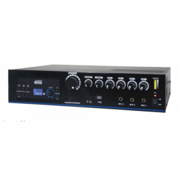 "ELA-Mischverstärker ""PA-210CD"", 60W mit CD/USB/SD MP3, 4-Kanal"