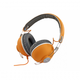 "Kopfhörer ""Hipster 104"", orange"