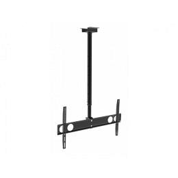 """LCD-Deckenhalterung, 37""""-70"""", bis 50kg, dreh- + schwenkbar PLB-CE348 schwarz"""