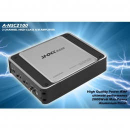 2-Kanal Verstärker, 2000Watt, Shockware A-NSC2100