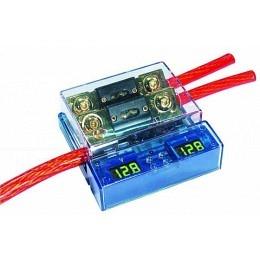 Sicherungsblock mit LED Anzeige