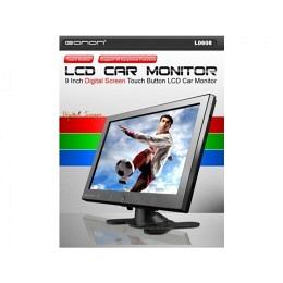 "Stand alone Monitor, 9"", Digital Touch Screen, unterstützt IR Kopfh. eonon L0608"
