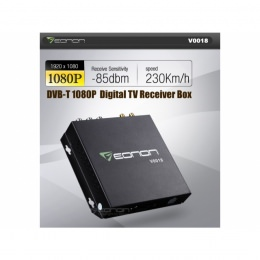 Digital Receiver Box, DVB-T HD digital, mit USB-Anschl., eonon V0018