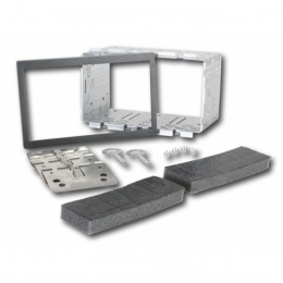 Universelles 2-DIN Installations Kit, 182 x 113 mm