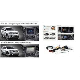 Rückfahrkamera-Eingang,TV-Frei für Chrysler, Dodge, Jeep, RAM ab 2013->