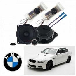 2-Wege Komponenten-System autospezifisch für BMW 1er, BMW 3er, BMW 5er