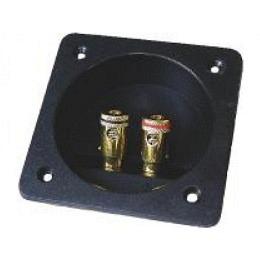 Lautsprecher-Terminal eckig 84x84mm