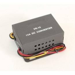 Spannungswandler, Dauer- und Zündungsplus, 24V zu 12V Converter, 15A