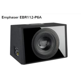 Emphaser EBR-P6A, Aktiv Bassreflex-Subwoofer Kiste, 180W RMS