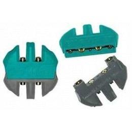 Emphaser Kupplungssystem zum Anschluss von Power-  Cinch- und Remotekabeln
