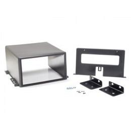 Universal Unterbauhalterung, 2-DIN, geeignet für Transporter, Boote, Wohnwagen