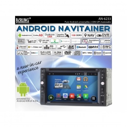 "2-DIN Autoradio, Android, DAB+ ready, 6.2"" kapaz. Display, Berling AN-6233"