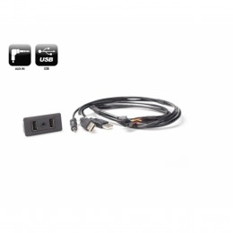 USB/AUX Replacement OEM  Buchse inkl. Verkabelung VW Golf VII ab 2013 >