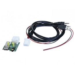 USB/AUX Replacement Austausch OEM Buchse Set ink Verkabelung für Hyundai, Kia