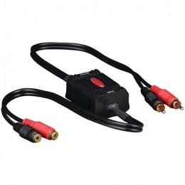 Cinch High-End-Entstörfilter Stereo-Line-Übertrager / Massefilter / Brummfilter