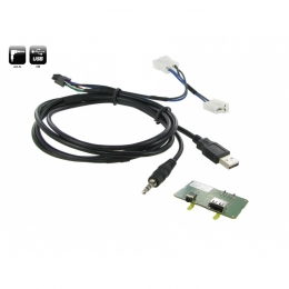 USB/AUX Replacement Ssangyong Korando ab 2011>