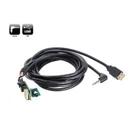 USB/AUX Replacement Austausch OEM Buchse Nissan Qashqai ab 2014->