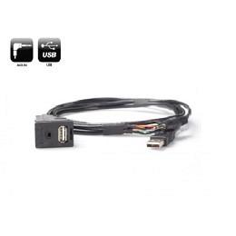 USB/AUX Replacement Austausch OEM Buchse für SUBARU BRZ ab 2012, TOYOTA ab 2013>