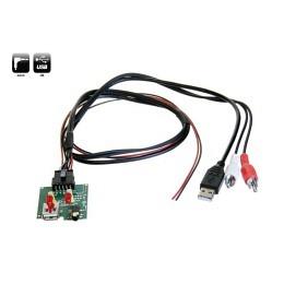 USB/AUX Replacement Austausch OEM Buchse für Hyundai iX20,iX35,i40 Genesis