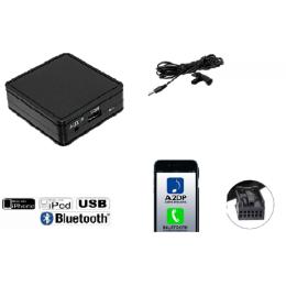 USB-Bluetooth® A2DP & Freisprechfunktion für Peugeot ab 2005> VDO/ RD4 Radio