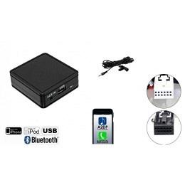 USB - Bluetooth® A2DP & Freisprechfunktion für VW, Skoda, Seat ab 2005>
