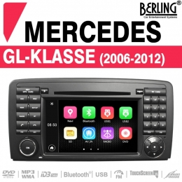 Autoradio Navigation für Mercedes GM/ML, Berling TS-1608S-3, B-Ware (Nr. 433)