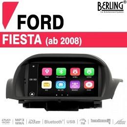 Autoradio Navigation für Ford Fiesta (ab 2008), TS-1803HD-1, B-Ware (Nr. 441)