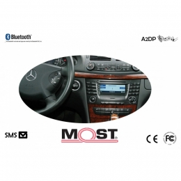 Bluetooth Freisprecheinrichtung Mercedes, Smart (C451) mit Audio 20, APS 50 MOST