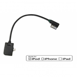AMI Anschlusskabel Apple Lightning iPod, iPhone oder iPad für VW, Audi, Skoda