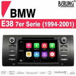 Autoradio Navigation für BMW E38 (1994 - 2001), Berling TS-1614S-1