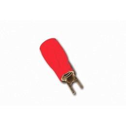 Gabelkabelschuh 25mm² rot für Anschluß an Verstärker