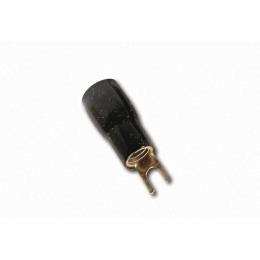 Gabelkabelschuh für 25mm² Kabel schwarz für Anschluß an Verstärker